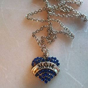 Free gift with a $15 purchase mom necklace